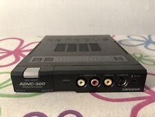 Canopus ADVC 300 Digitalisierung A/D Wandler Grass Valley Videokonverter
