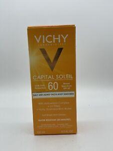 Vichy Capital Soleil Daily Anti-Aging Face & Body SPF 60 Sunscreen 5.0 FL. OZ ‼️