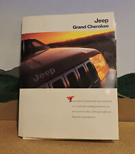 RARE 1993 JEEP GRAND CHEROKEE PRESS KIT/INCLUDES VINTAGE JEEPS BACK TO THE 190'S