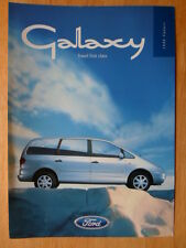 FORD GALAXY orig 1998 UK Mkt Update sales leaflet brochure