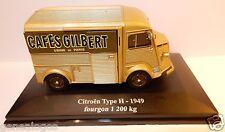 ELIGOR HACHETTE CITROEN TYPE H HY 1949 FOURGON 1200 KG CAFE GILBERT USINE PARIS