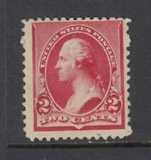 #220 1890 2 cent Washington (Mint Hinged) cv$20.00