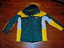 Green Bay Packers NFL Winter Jacket with Removable Vest Size M EUC