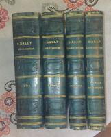 1844-47 Dally Nicolas Usi e costumi sociali 4 volumi 231 tavole di costumi