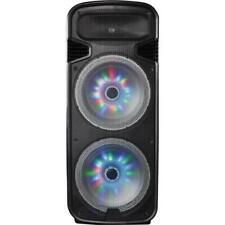 IQ Sound IQ6315DJBT Dual 15 Bluetooth Speaker With LED Lights