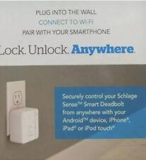 Schlage Sense Wi-Fi Adapter BR400 White New!