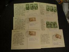 6 Infi Post Cards to Seattle Washington Postally Used Sku#17171