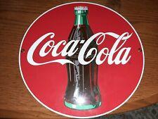 Vintage Ande Rooney, Coca Cola Sign, Porcelain Enamel