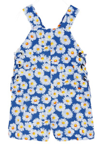NWT Zara Girls Soft Collection Flower Romper/Shorts  Size 11-12 years Blue