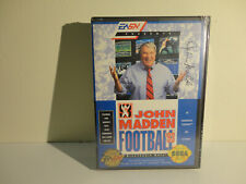 John Madden Football '93 (Sega Genesis 1993) Sealed *Brand New* Very RARE