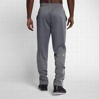 Nike M  Men's Air Jordan FLIGHT Team Basketball Pants NEW $80  696734- 065 Grey
