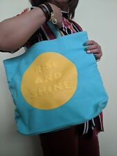 RARE!! Authentic KATE SPADE New York sky blue canvas large tote