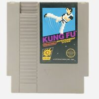KUNG FU -- NES Nintendo Classic Original Game AUTHENTIC TESTED & WORKING