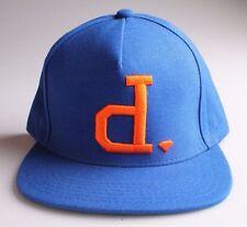Diamond Supply Royal Blue and Orange Unpolo Snapback Baseball Hat NY