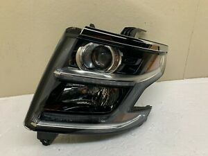 2015 2016 2017 2018 Chevrolet Tahoe Suburban Right Headlight Halogen OEM