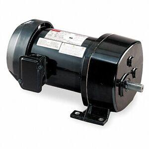 DAYTON 6K352 AC GEARMOTOR, 27 RPM, 1/4 HP, 115V AC, 1-PHASE, 500.0 IN-LB, NEW!