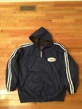 ec02bc4f02a Dallas Cowboys NFL Vintage Game Day Hooded Full Zip Sideline Jacket Men's  Size L