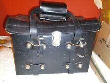 Vintage hard case Camera Bag red interior leather?