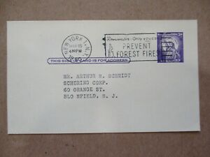 """POSTAL CARD """"1960  NOTICE FOR A  SALES MEETING"""" w/SLOGAN"""