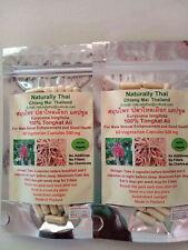 Naturalmente Thai-Orgánico Tongkat Ali - 500mg x120 Cápsulas-eurycoma longifolia