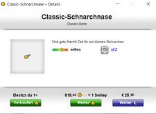 Knuddels.de Smileys Classic-Schnarchnase