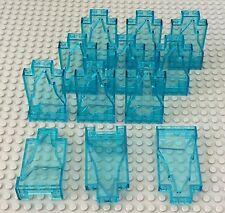 Lego New X12 Trans-light Blue Rock 2x4x6 Panel / Iceberg Mountain Bulk Parts Lot