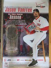 Promo Literacy Champion Verizon Reads JASON VARITEK No.33 BOSTON RED SOX Poster