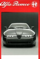 Alfa Romeo PROTEO concept car UK press kit brochure 1991 + 2 press photos