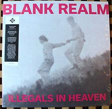 BLANK REALM Illegals In Heaven VINYL UK LP Fire FIRELP417 2015 NMINT + MP3 Code
