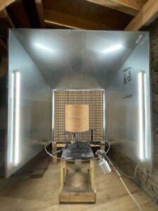 PAINT MODUL' = Cabine de peinture / mur aspirant modulable livré en kit (neuve)