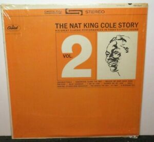 NAT KING COLE STORY VOL 2 (VG+) SW-1927 LP VINYL RECORD