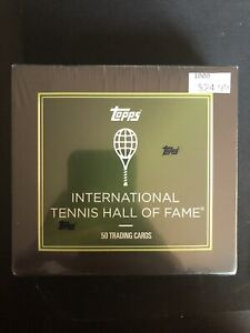 2019 Topps Tennis Hall of Fame Sealed 50 Card Set - Naomi Osaka, Federer