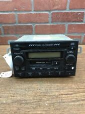 01 02 Honda Accord Radio Am Fm 6 Disc Cd Player 39100S82A300 Oem