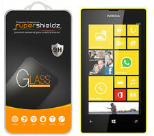 2X Supershieldz Tempered Glass Screen Protector Saver Shield For Nokia Lumia 520