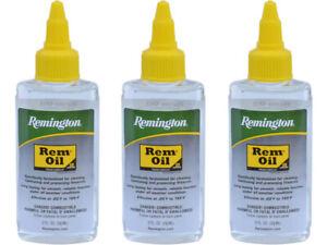 Remington REM© Oil - Firearm Lubricant - 2 FL Oz. (59ML)  Package of Three