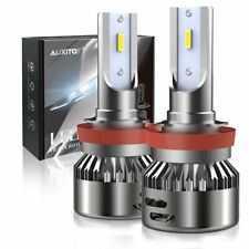 New listing Auxito H11 H9 H8 Cree Led Headlight Bulbs Kit Low Beam Super White 9000Lm 6000K