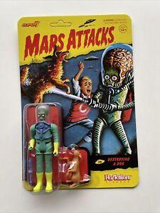 Super7 Reaction Mars Attacks Destroying A Dog Figure