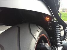 Motorcycle LED Flush Turn Signals Blinker Rear Front Mini Micro Hi Visibility