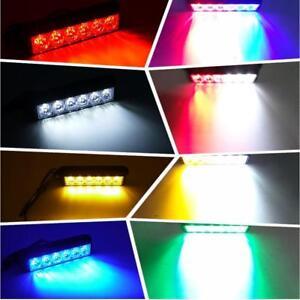 High Power 12V/24V 6LED 6W Strobe Lights Super Bright Warning Emergency light