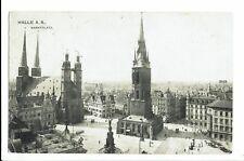 CPA -Carte postale-Allemagne - Halle - Markplatz-1907  S584