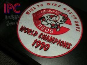 CINCINNATI REDS 1990 world series patch  Meyer Dibble nasty Boys (1990 )