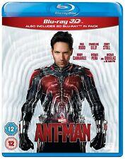 MARVEL'S ANT-MAN [Blu-ray + Blu-ray 3D] Combo Pack 2-Disc Set The Antman Avenger