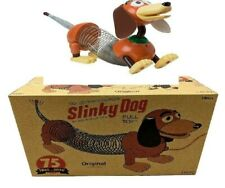 """75th Anniversary Slinky Dog Pull Toy- With String Attach To Chest As """"Original"""""""
