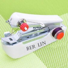 Home Travel Cordless Portable Mini Hand-Held Clothes Fabrics Sewing Machine