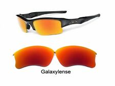 Galaxy Replacement Lens For Oakley Flak Jacket XLJ Sunglasses Prizm Red Color
