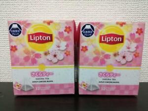 Lipton Sakura Tea Japan Limited Blend 12 tea bags in 1 Box 2set JAPAN Import