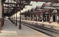 POSTCARD   BEDFORD  MIDLAND  RAILWAY  STATION   Circa  1911   RP