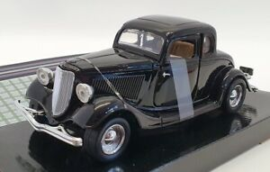 Motor Max 1/24 Scale #73200AC - 1934 Ford Coupe - Black