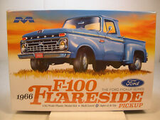 1966 FORD F-100 FLARESIDE PICKUP MOEBIUS MODELS 1:25 SCALE PLASTIC TRUCK KIT