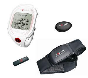 Cardiofrequenzimetro Polar Mod RCX3 RUN S3+  White